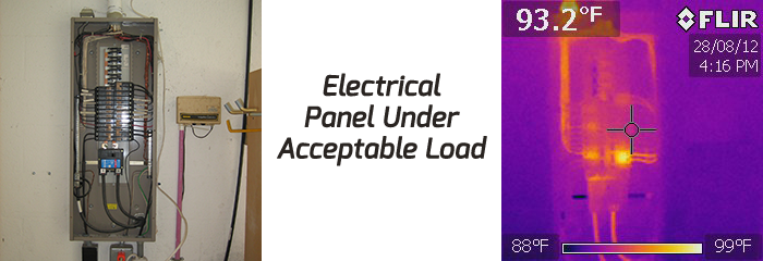 Infrared Home Inspections - inspecting electrical pannel