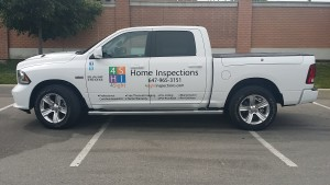 Vehicle Wraps for Home Inspectors