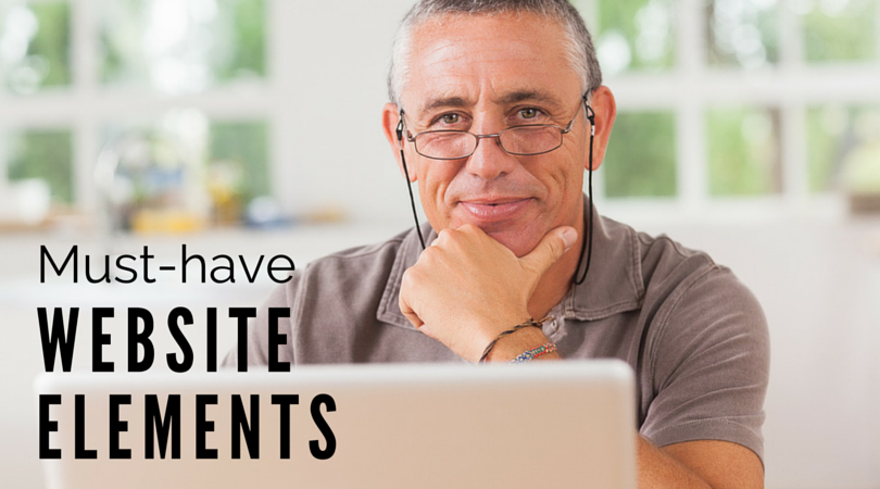Must-have website elements