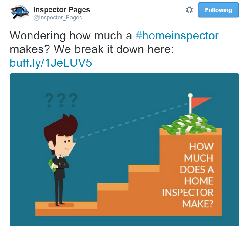 Twitter marketing for home inspectors