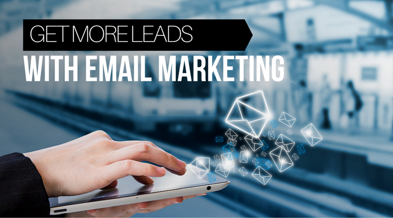 get more leads with email